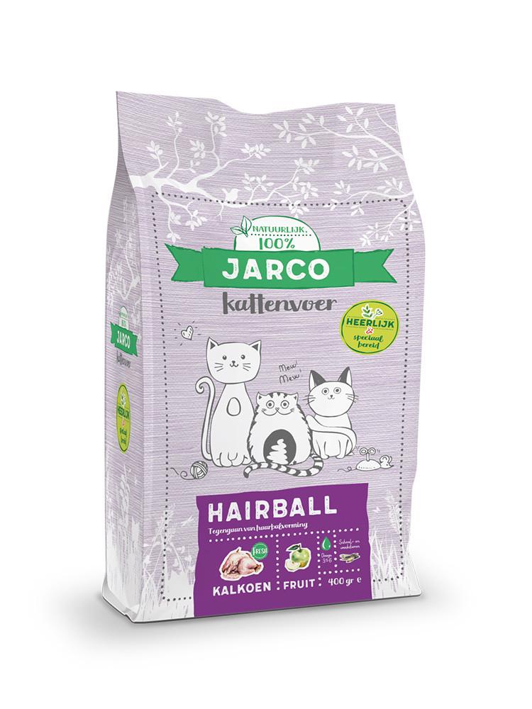 Jarco kattenvoer Premium Vers Hairball 2 kg