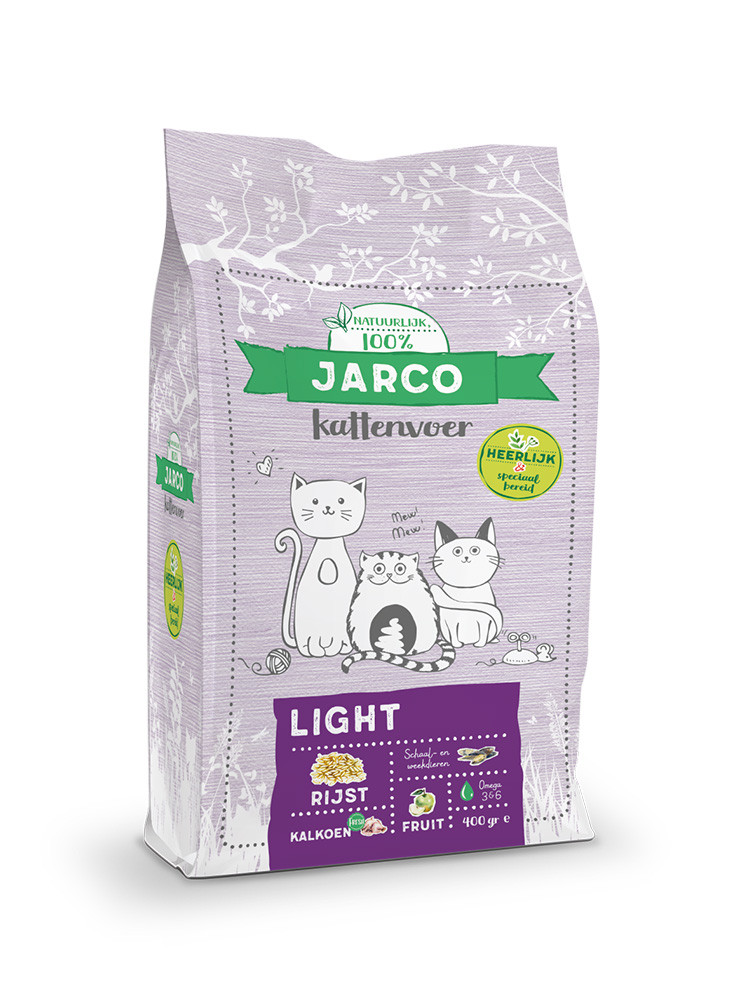 Jarco kattenvoer Premium Vers Light 2 kg