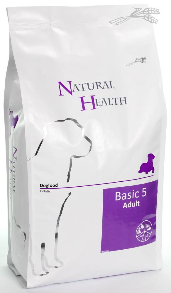 Natural Health hondenvoer Basic 5 Adult 2,5 kg