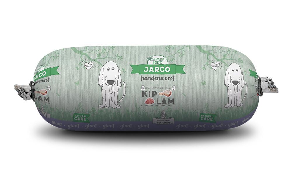 Jarco hondenworst Giant Kip/Lam 750 gr