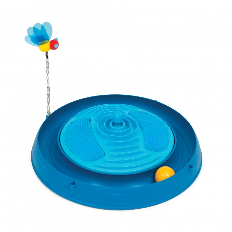 Catit Play Ballenbaan met Massagestation blauw