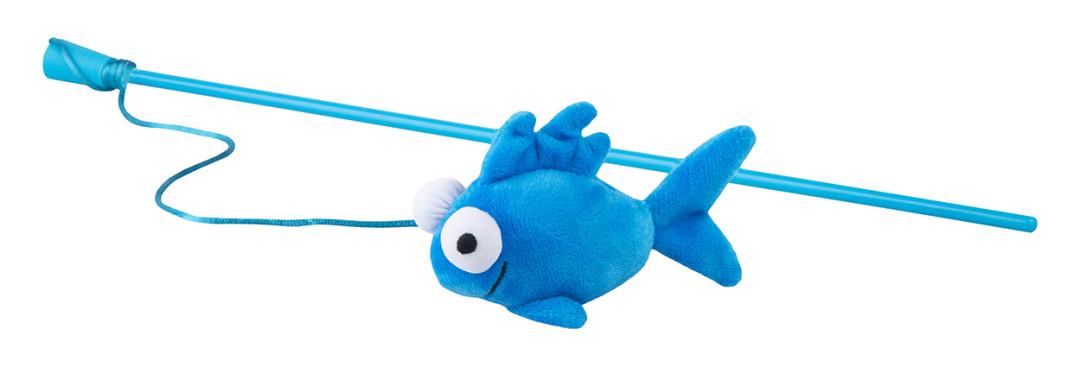 Rogz Catnip Fish <br>Magic Stick blue