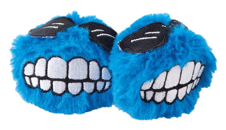 Rogz Catnip Fluffy Grinz blue 2 st