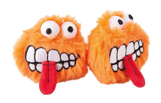 Rogz Catnip Fluffy Grinz orange 2 st