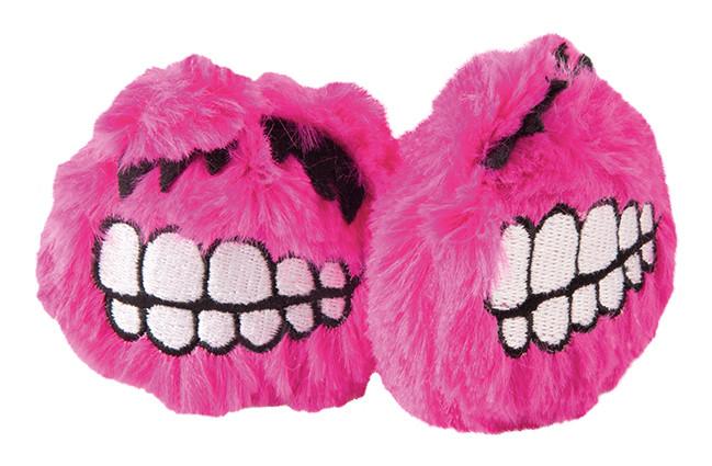 Rogz Catnip Fluffy Grinz pink 2 st