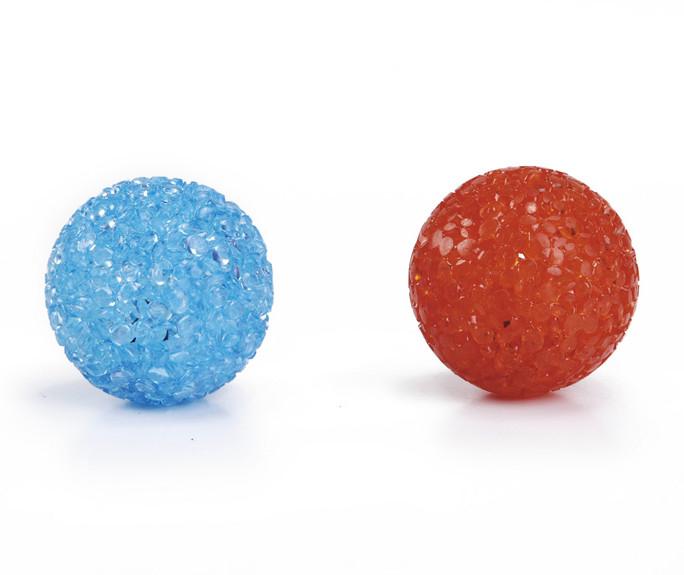 Beeztees Glitter Bal <br>2 st