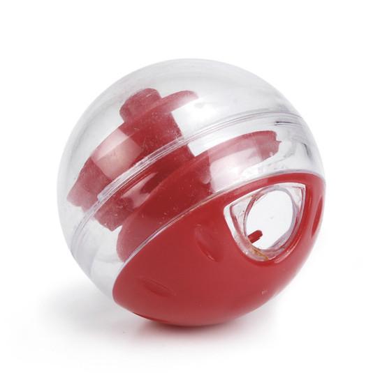 Beeztees snackbal Twirly verstelbaar rood