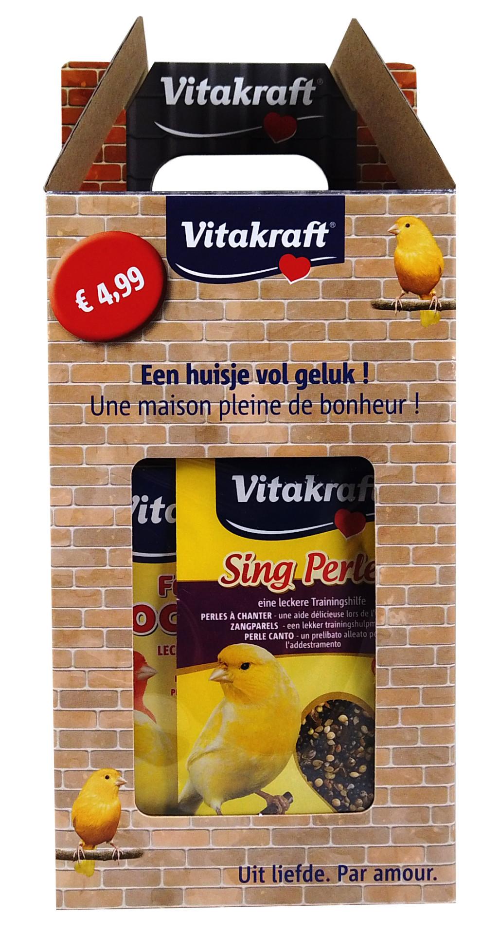 Vitakraft dierendagpakket vogel
