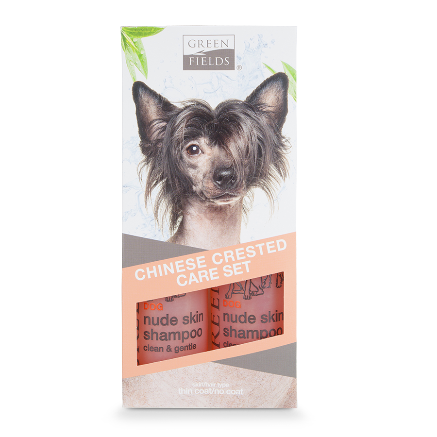 Greenfields Chinese Crested Care Set <br>2 x 250 ml