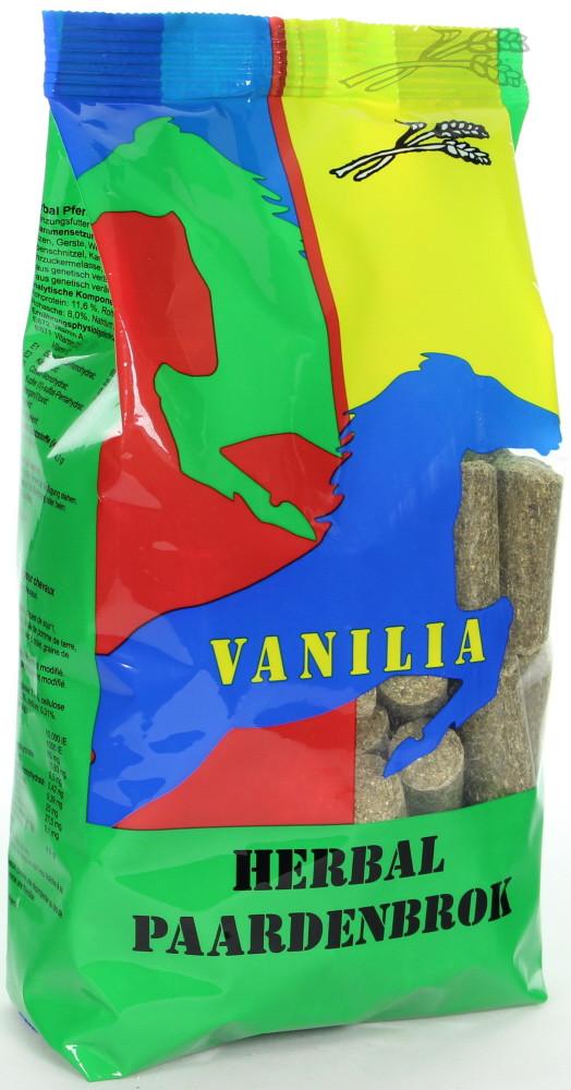 Vanilia Herbal paardensnacks 1 kg