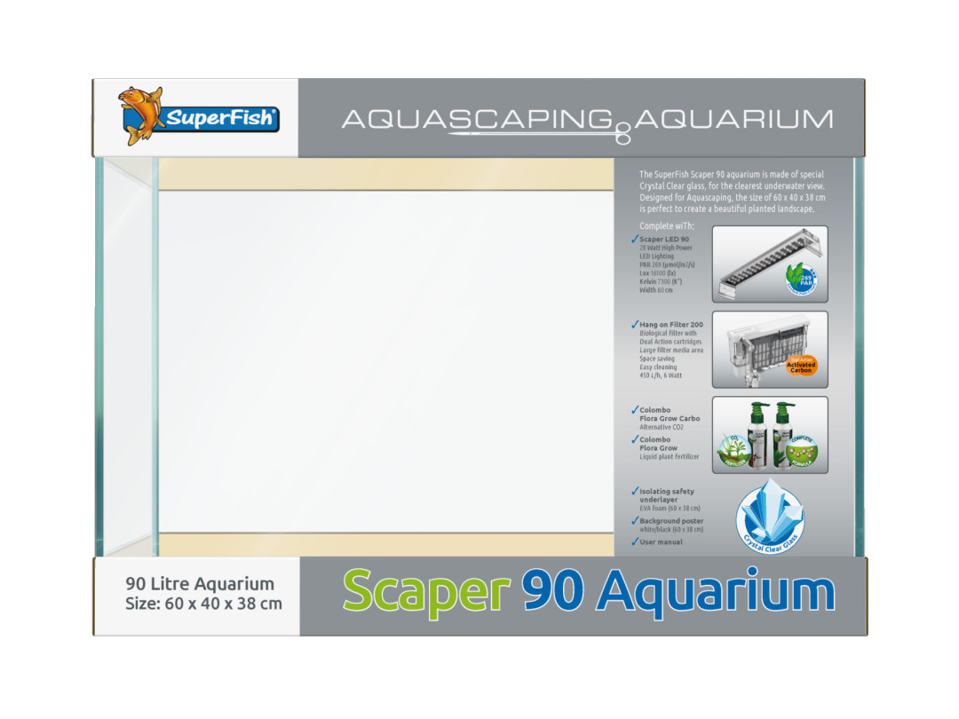 SuperFish aquarium Scaper 90