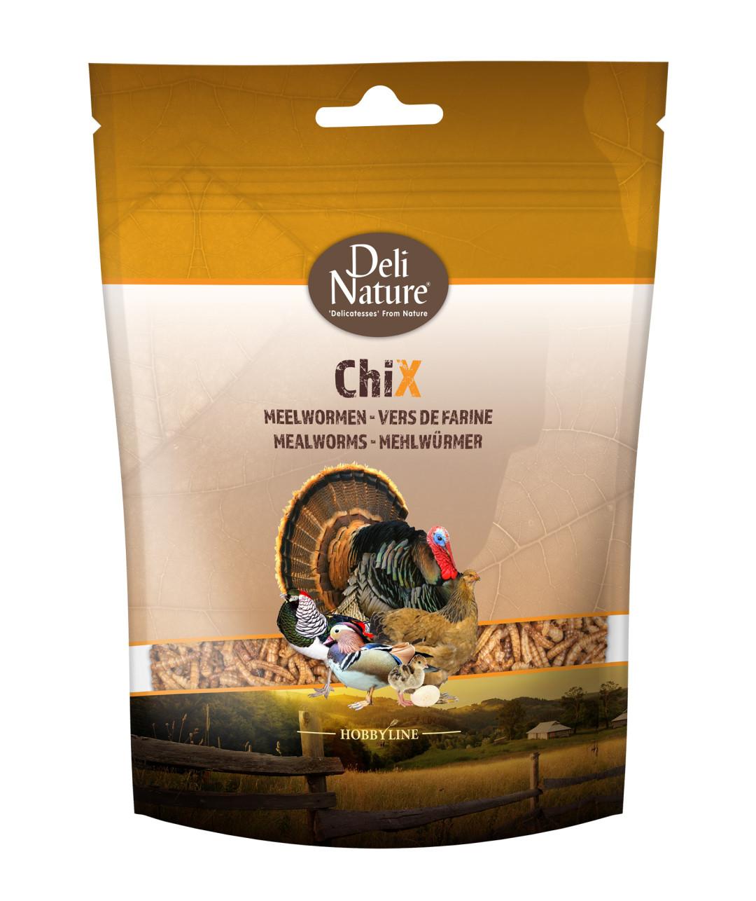 Deli Nature ChiX Meelwormen 200 gr