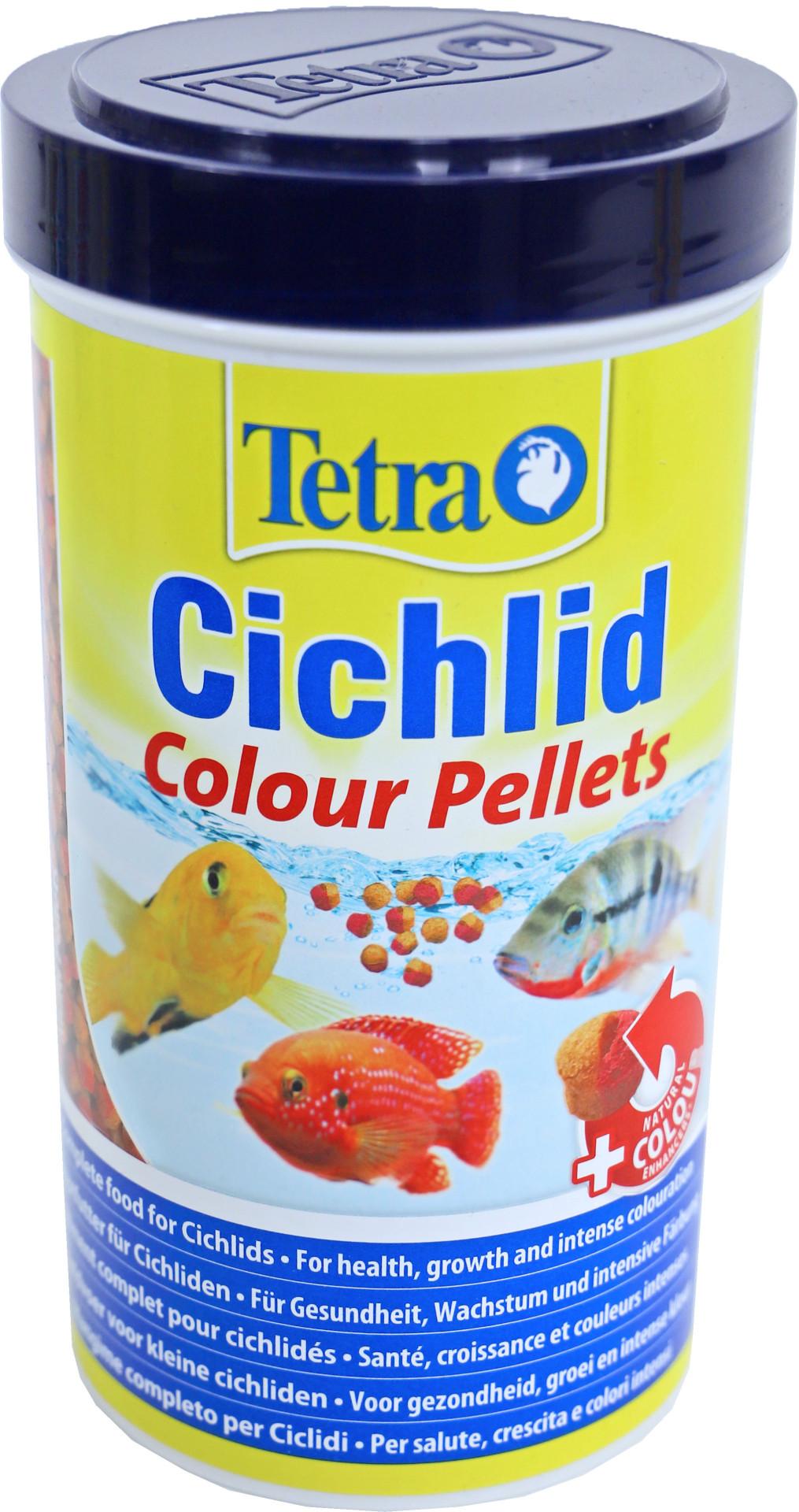 Tetra Cichlid Colour Pellets 500 ml