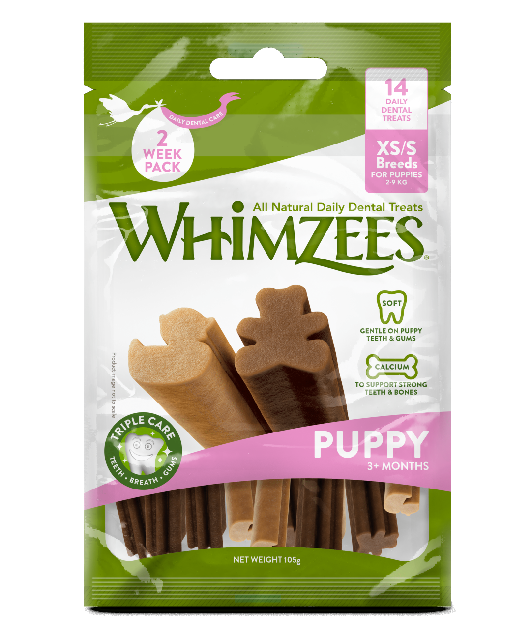 WHIMZEES Puppy XS/S 14 st