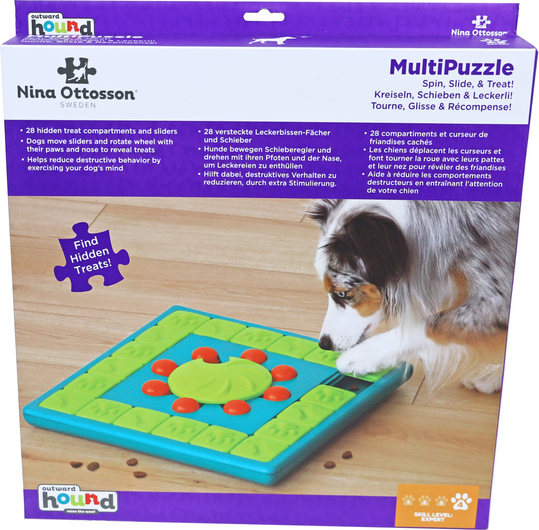 Nina Ottosson hondenspel Multi Puzzle