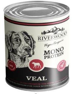 Riverwood hondenvoer Mono Protein Veal <br>400 gr