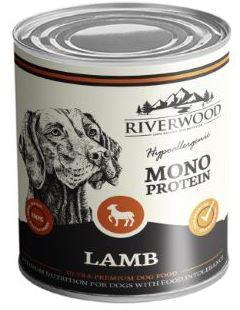 Riverwood hondenvoer Mono Protein Lamb <br>400 gr