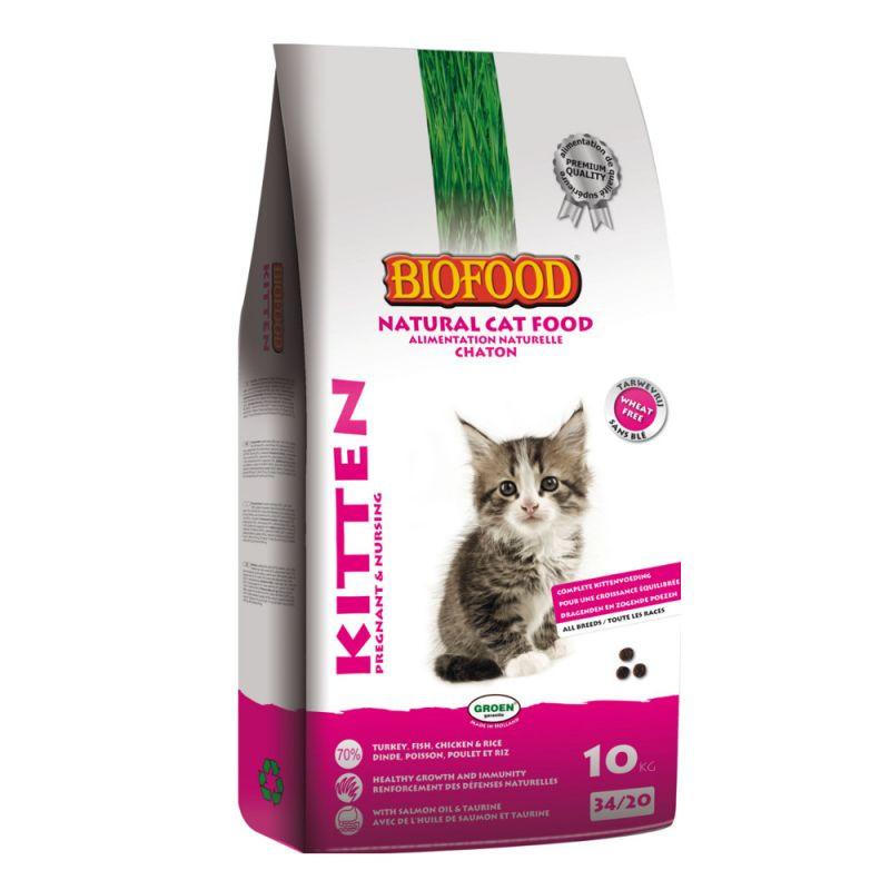 Biofood kattenvoer Kitten - Pregnant & Nursing 10 kg
