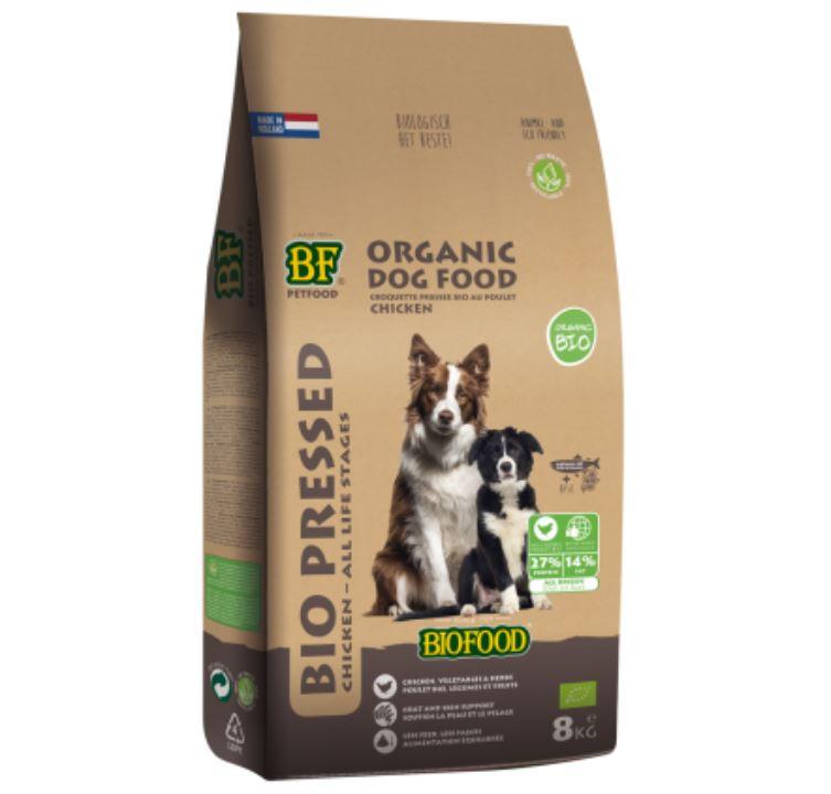 Biofood hondenvoer Bio Geperst 8 kg
