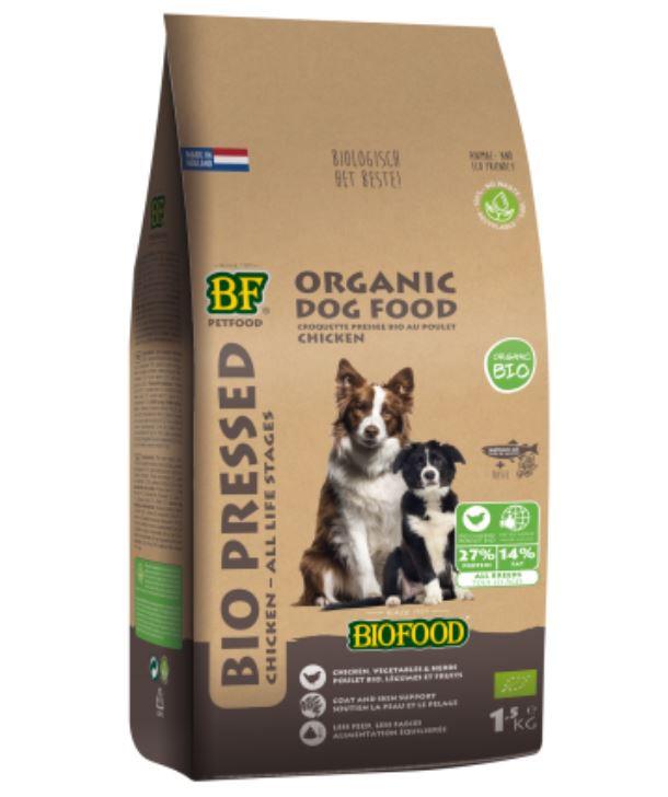 Biofood hondenvoer Bio Geperst 1,5 kg