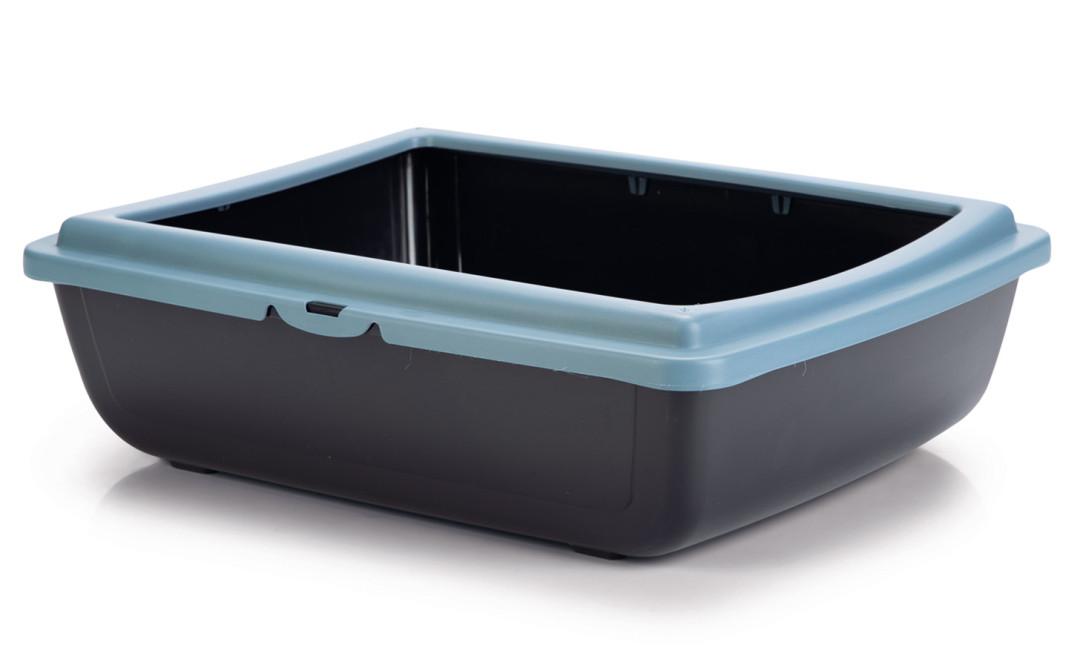 Beeztees Kattenbak Juliet Eco blauw/zwart