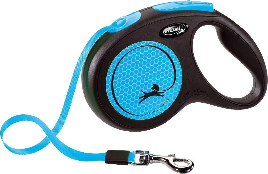 Flexi New Neon met band M 5 mtr