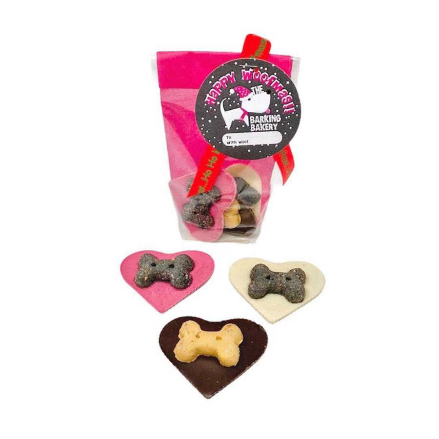 Barking Bakery Christmas Heart Cookies