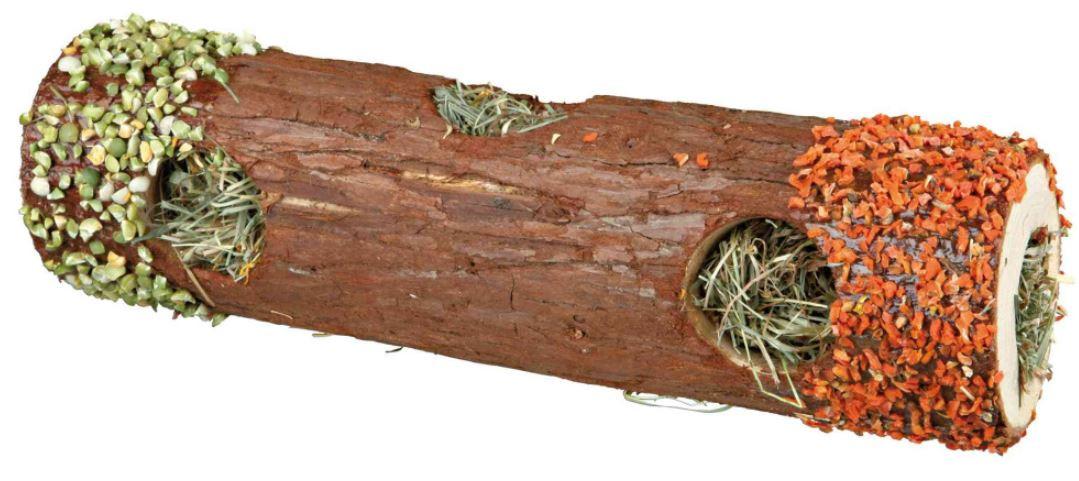 TRIXIE Tunnelbuis schorshout met hooi