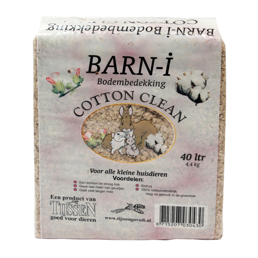 Barn-i Cotton Clean bodembedekker