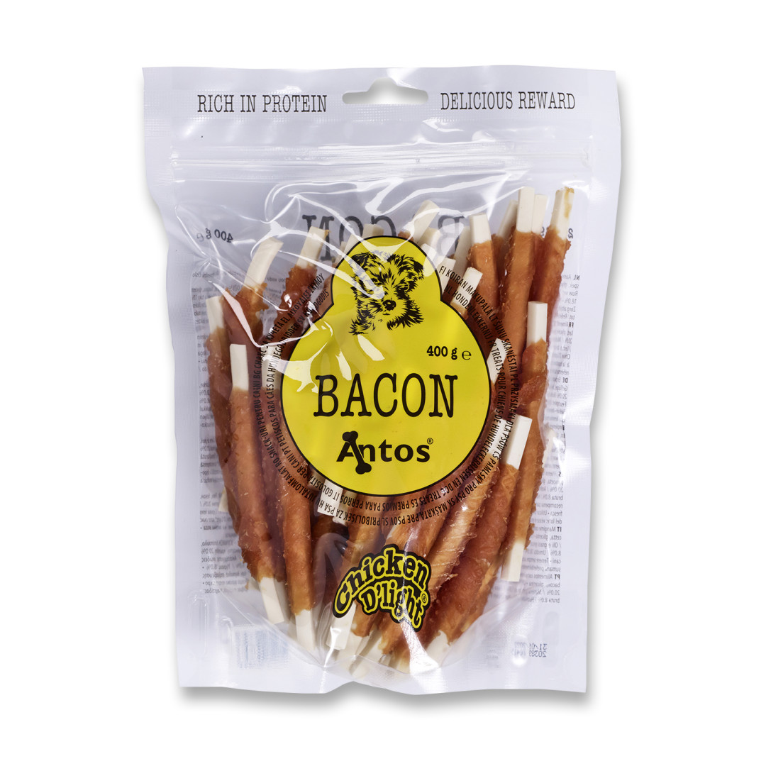 Antos Chicken D'Light Bacon 400 gr