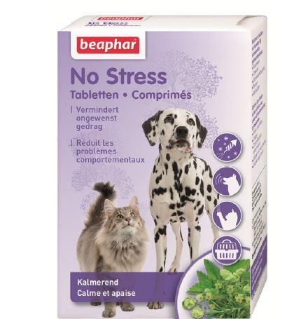 Beaphar No stress Tabletten hond/kat <br>20 st