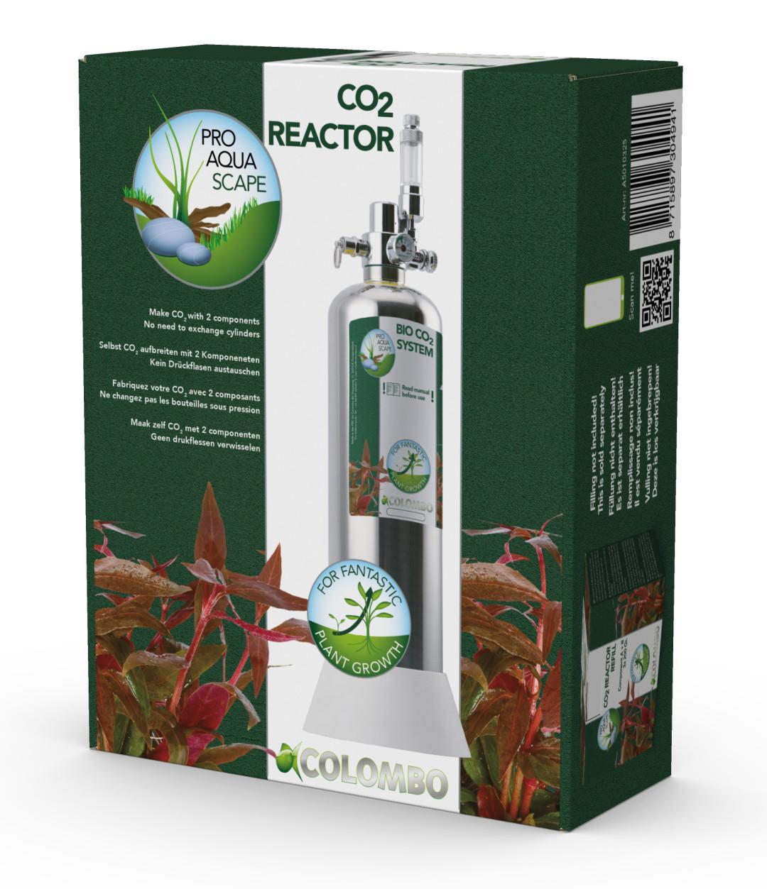 Colombo CO2 Reactor Set 2,3 ltr