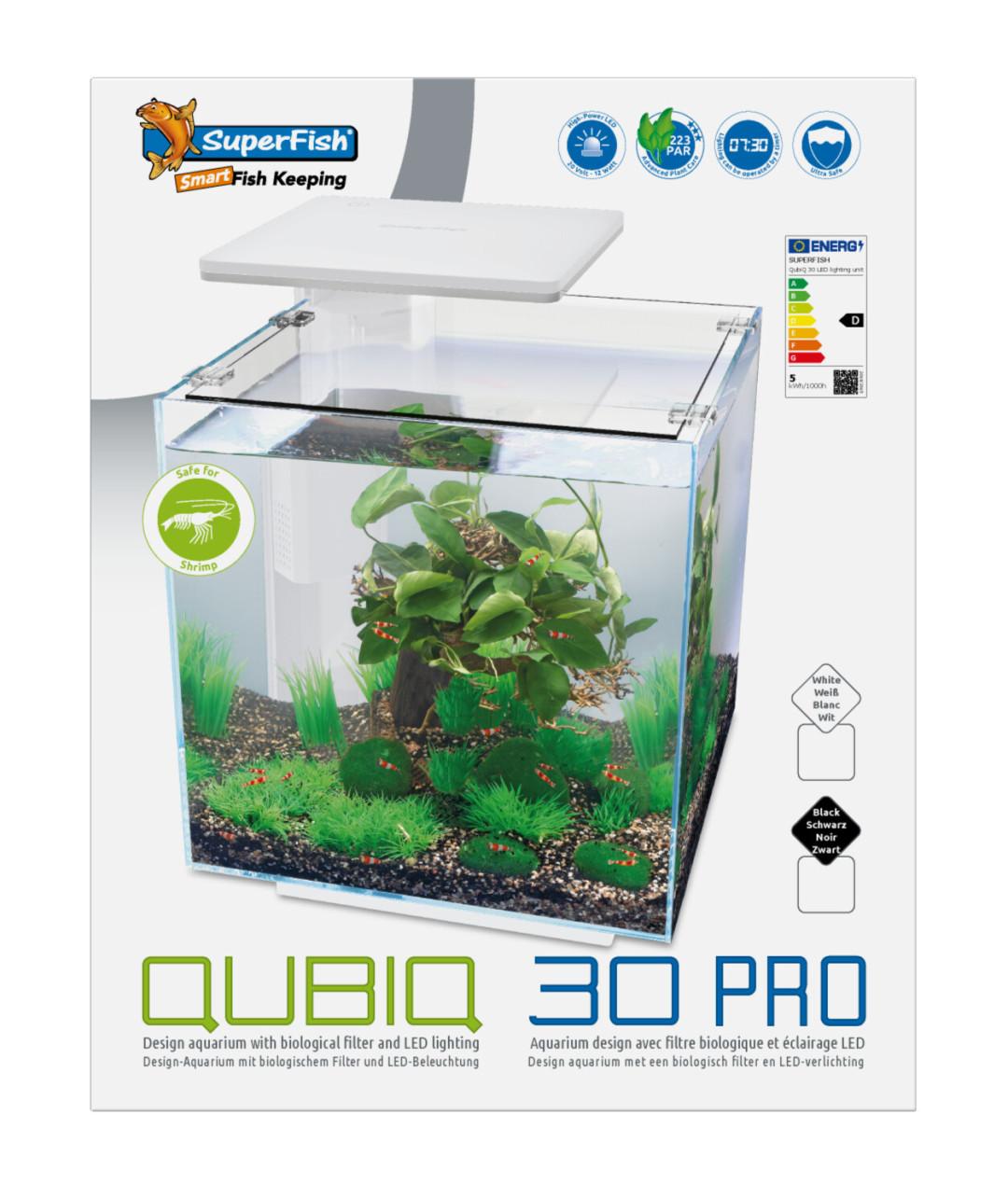 SuperFish Aquarium Qubic 30 Pro Wit