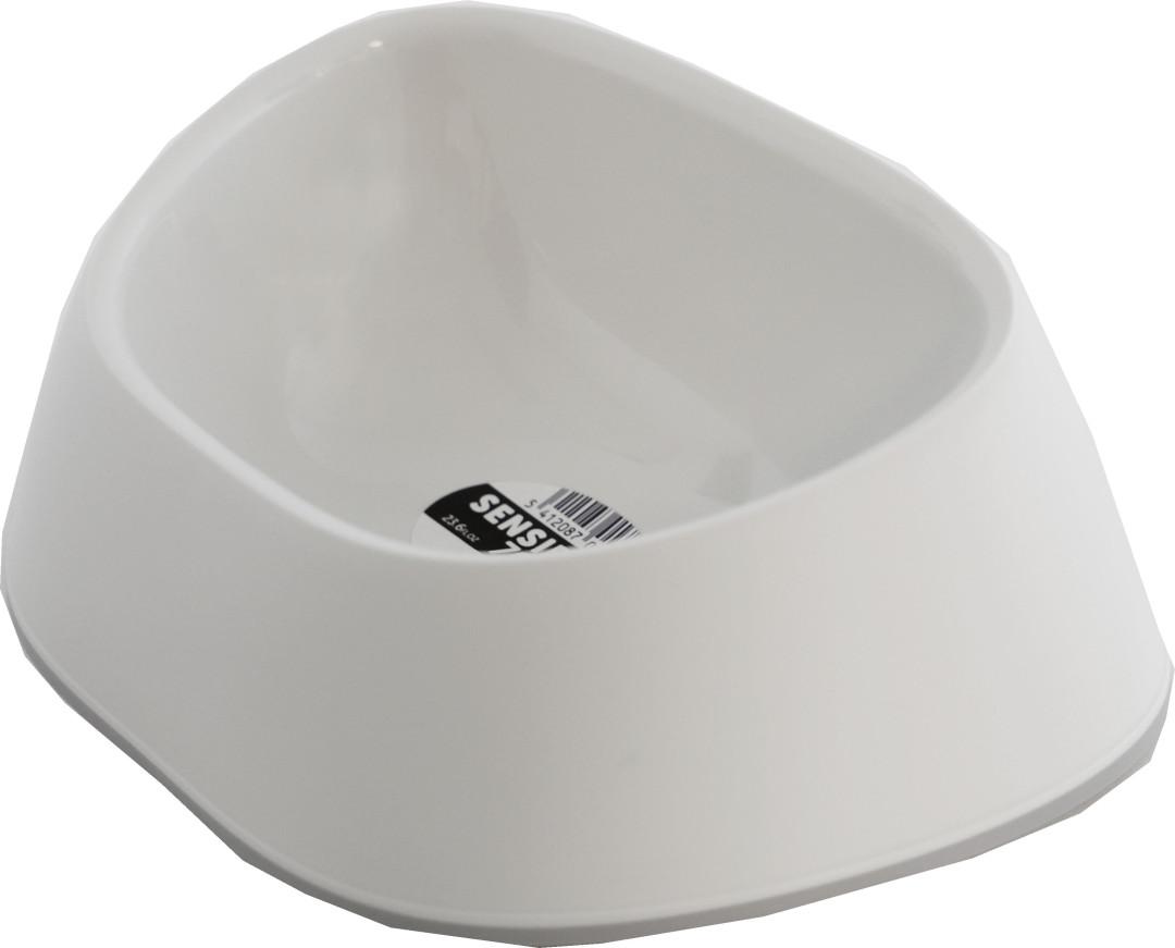 Moderna voerbak Sensi Bowl soft wit