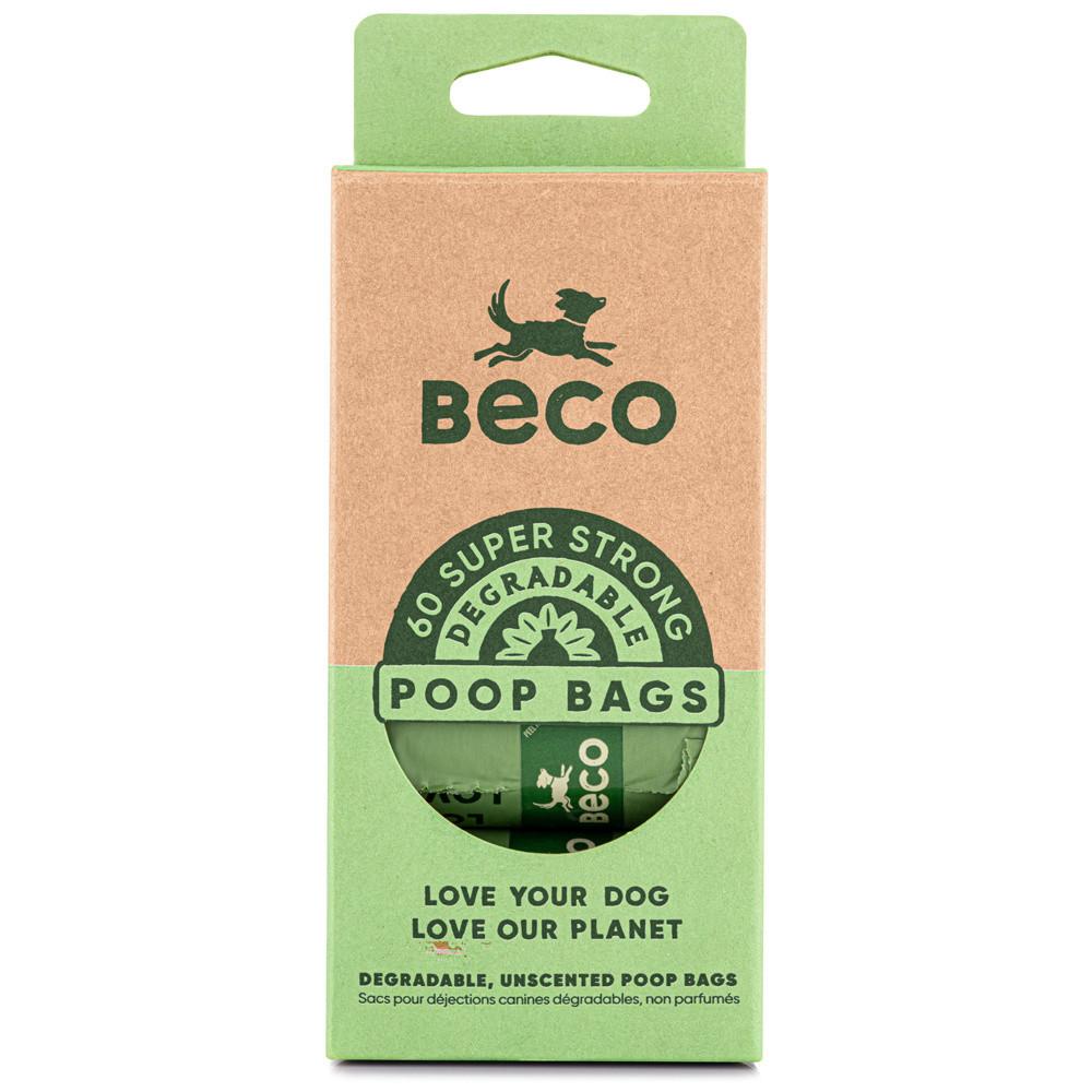 Beco Pets afbreekbare poepzakjes <br>4 x 15 st