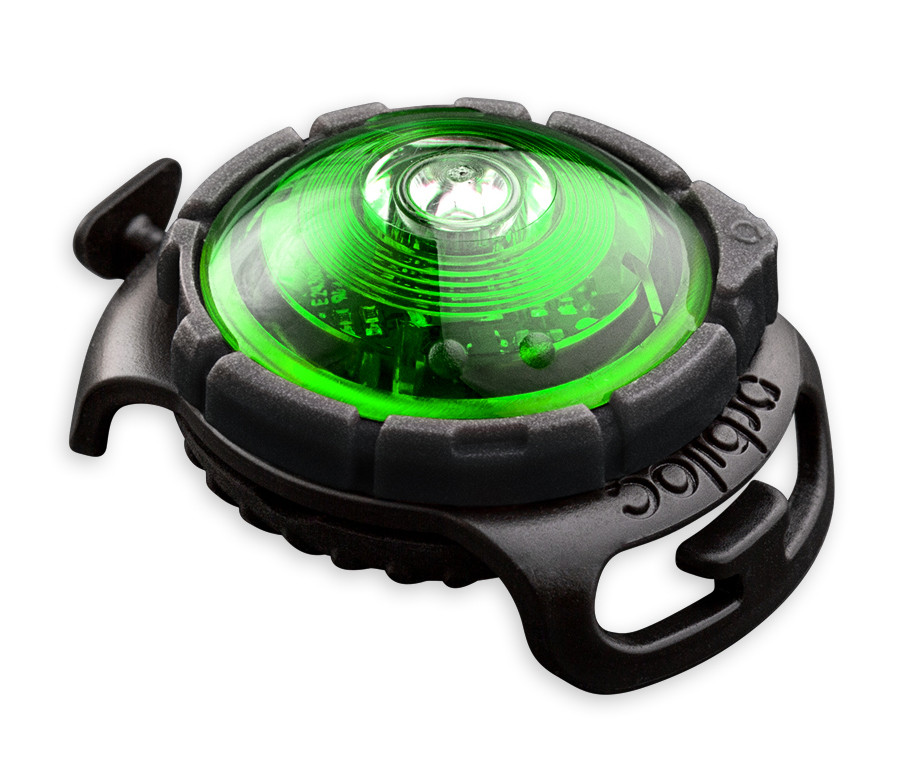 Orbiloc Safety Light Dog Dual groen