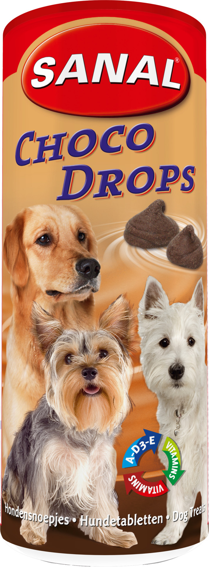Sanal Pot Choco Drops 250 gr