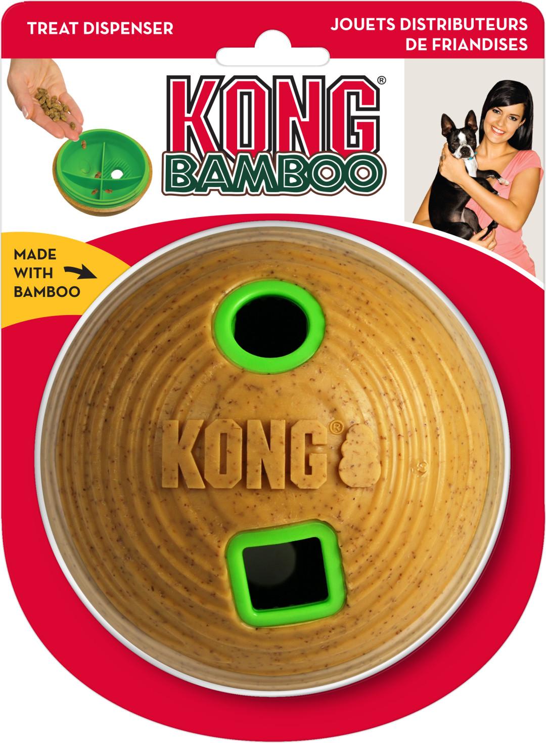 Kong Feeder Ball Bamboo Medium