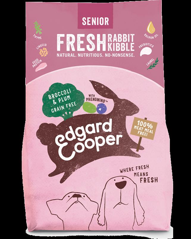 Edgard & Cooper hondenvoer Senior Vers konijn graanvrij 2,5 kg