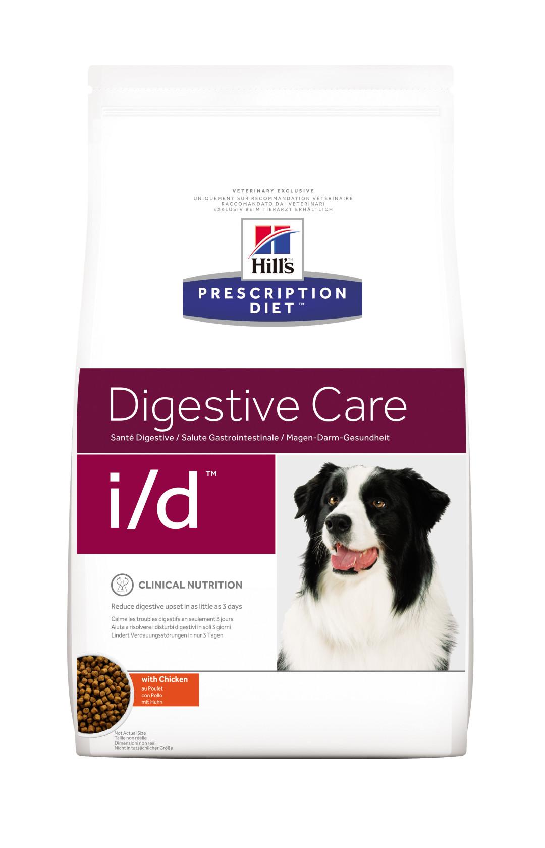 Hill's Prescription Diet hondenvoer i/d 2 kg