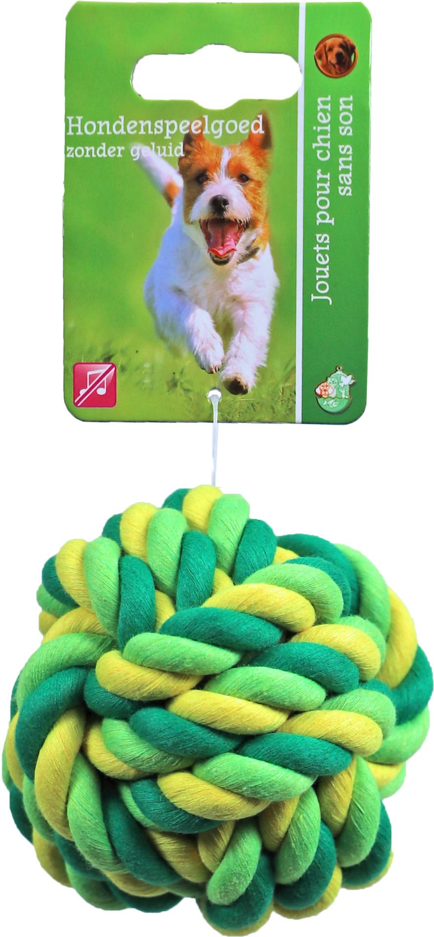 Touwbal Groen/geel