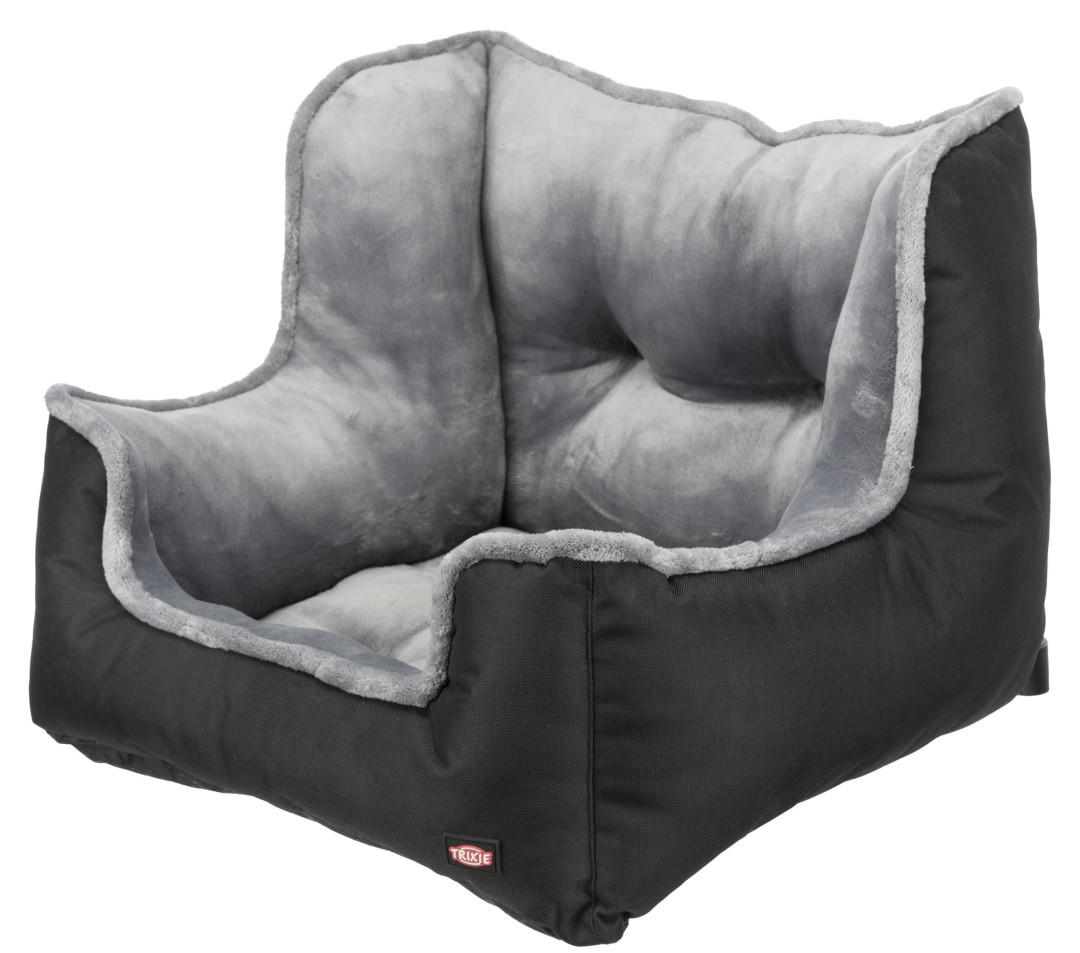 TRIXIE Autostoel Zwart/grijs