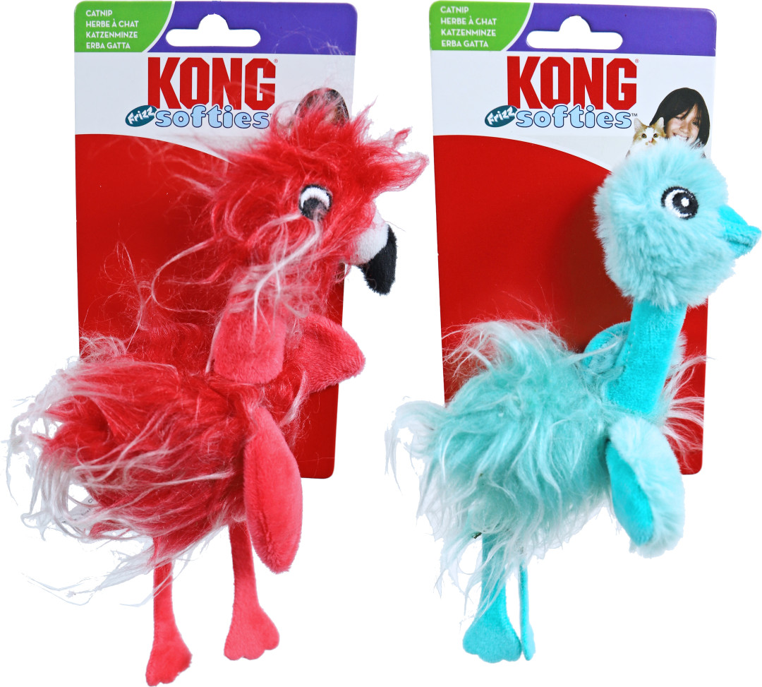 Kong Softies Frizz Bird Assorti