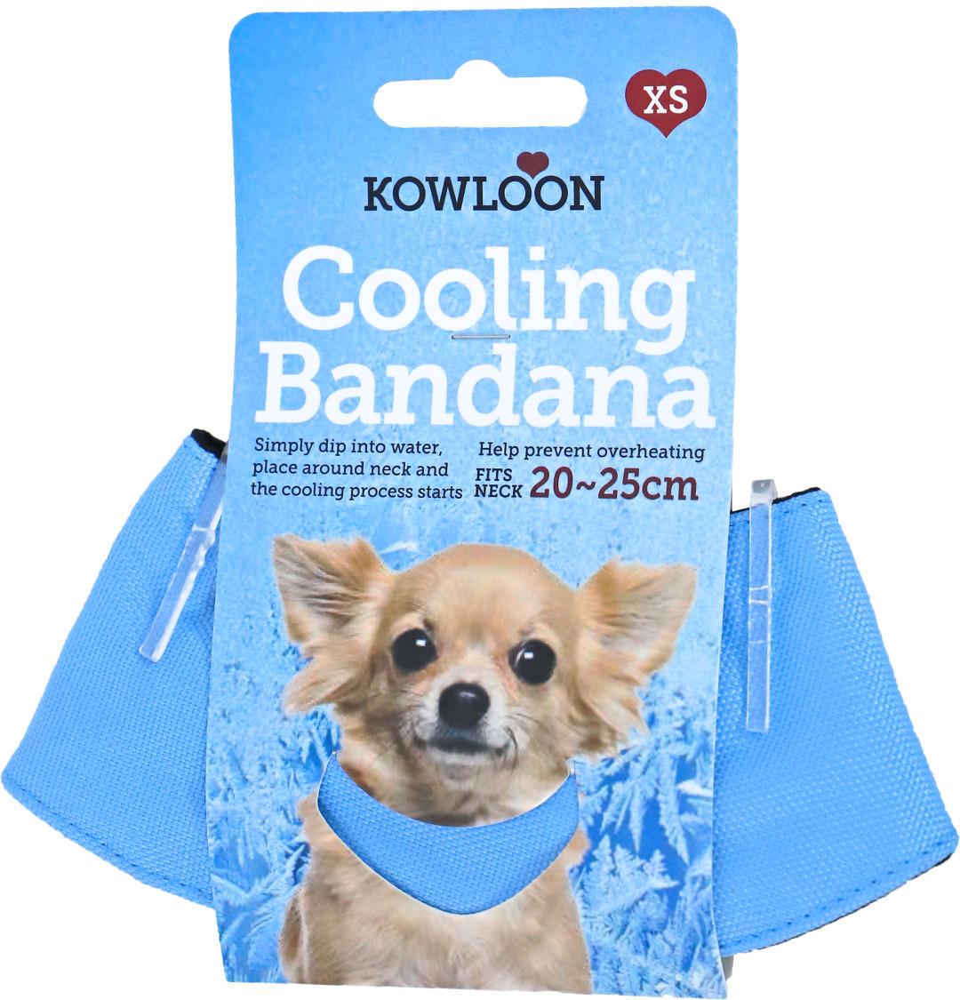 Kowloon Cool Bandana Lichtblauw
