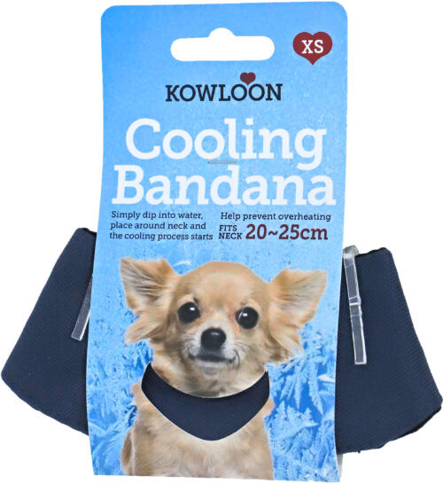 Kowloon Cool Bandana Donkerblauw