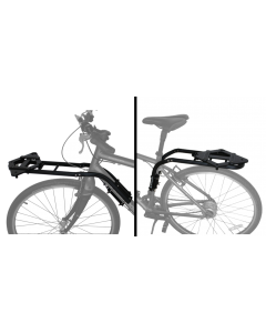 DoggyRide Britch Rack + Basket Adapter Zwart