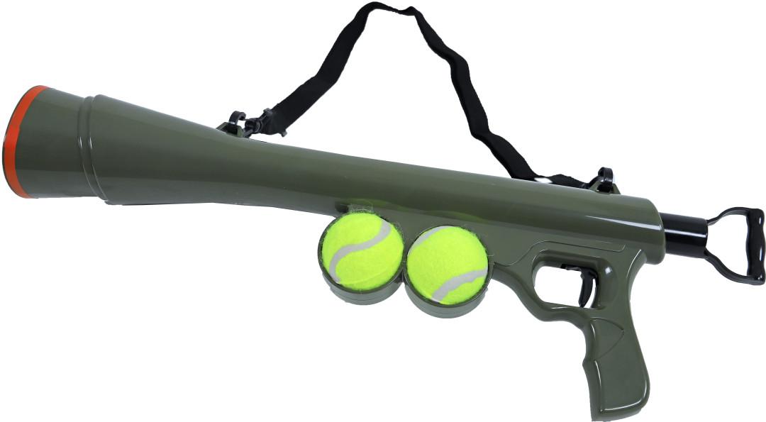 Tennisbal Bazooka + 2 tennisballen