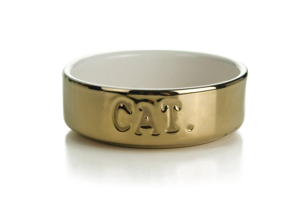 Beeztees Voerbak Cat Goud