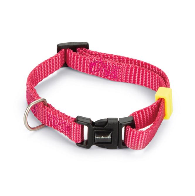 Beeztees Halsband Uni Roze