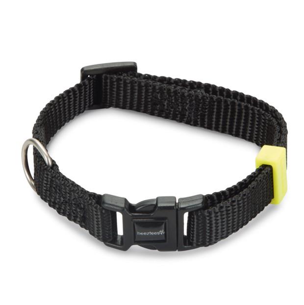 Beeztees Halsband Uni Zwart